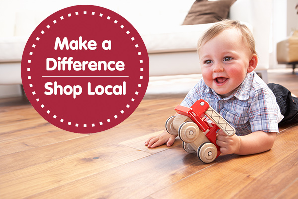 Make a difference - show local!